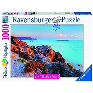 Ravensburger Puzzle 1000 Pz Grecia Mediterranean Places