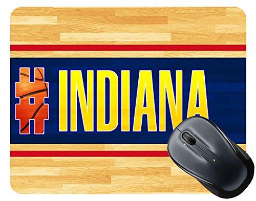 BRGiftShop Basketball Team Hashtag Indiana #Indiana Square Mouse ()