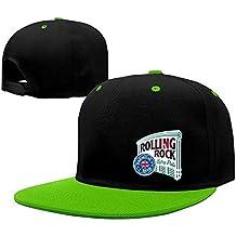 Fashion Old Latrobe Rolling Rock UK Hip Hop Snapback Baseball Cap Red