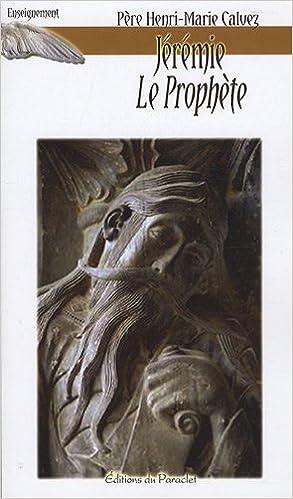 Livre Jérémie le prophète epub pdf