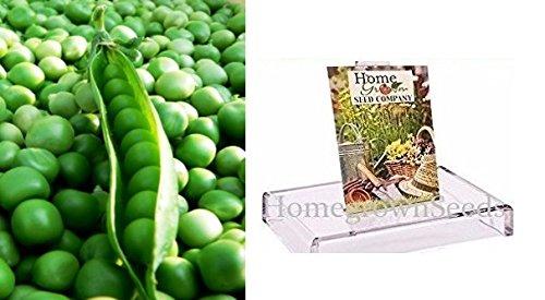 - Homegrown Pea Seeds, 130 Seeds, Organic Super Sugar Snap Pea