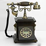 Retro style push button dial desk telephone / Home decorative # 1693