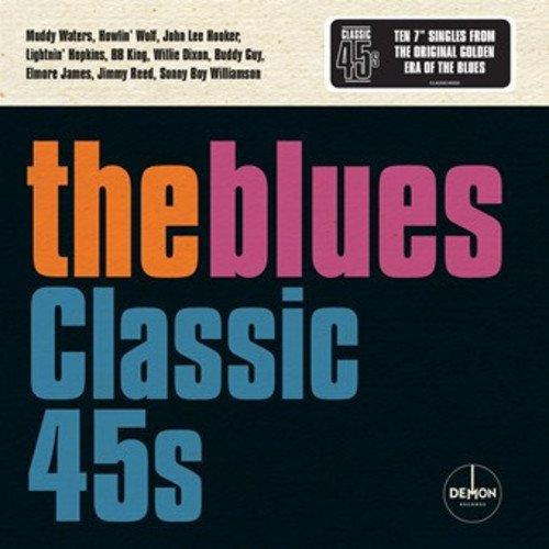Blues: Classic 45\'s / Various (Boxed Set, United Kingdom - Import, 10PC)