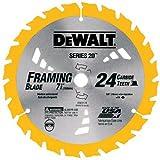 DEWALT DW3582 8-1/4-Inch 24T Carbide Thin Kerf Circular Saw Blade