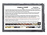 Hair Building Fibers 25 Grams Refill Your Existing Bottle. Highest Grade Fiber By Finally Hair (Dark Salt & Pepper - Very Dark Brown/black with a Touch of White Special Formula)