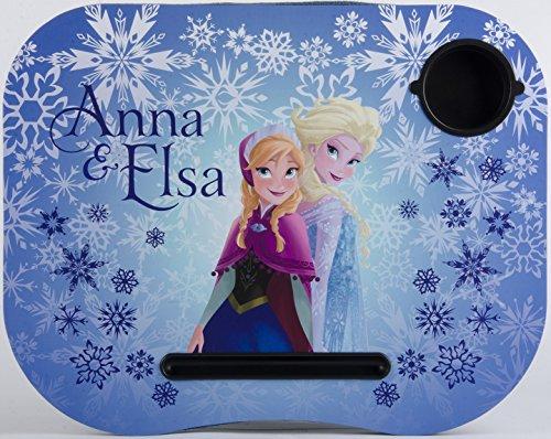 Disney Frozen Elsa Anna Lap Desk Built in Cup Holder Official Licensed