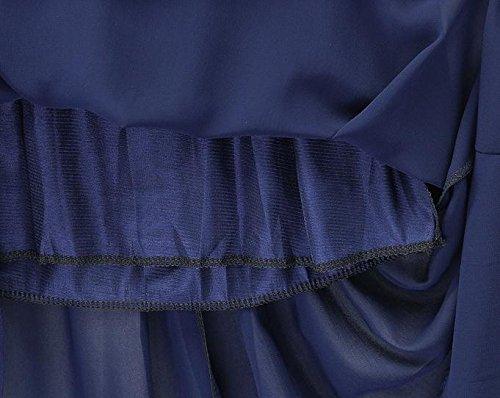Slim Vestido de oscilación Joker Correa gasa vestido de Gasa de la mujer , l