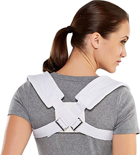 Bell-Horn Clavicle Posture Support Brace, Small (Small Bell Horn)