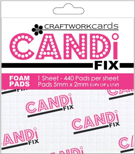 Craftwork Cards - Craftwork Cards Candi Fix Foam Pads 440/Pkg-.25