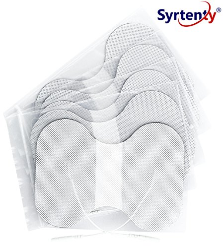Syrtenty TENS Unit Electrodes Pads 4.5x6 inch butterfly 5 pcs Replacement Pads Electrode Patches For Electrotherapy