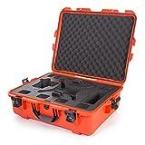 Nanuk 945 Waterproof Hard Drone Case with Custom Foam Insert for DJI Phantom 4/ Phantom 4 Pro (Pro+) / Advanced (Advanced+) & Phantom 3 - Orange
