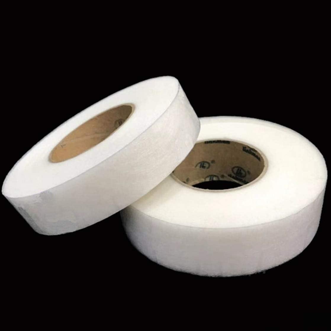 Adiken zuverl/ässiges 20 m Saumband B/ügelband f/ür Textilien Hosen Vorh/änge zum Aufb/ügeln 1