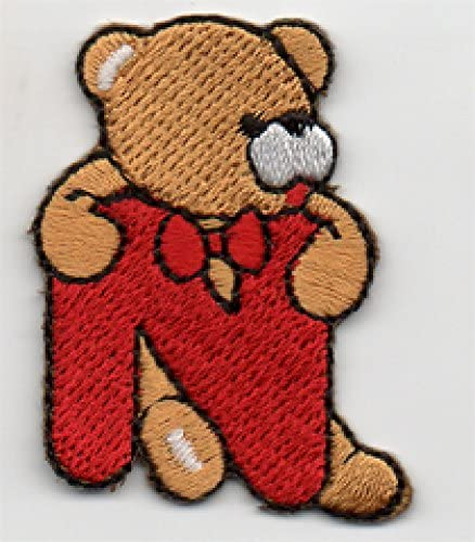 Teddy Bear sew on motif Knitting//Sewing//Crafts and card making