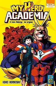 """Afficher """"My hero academia n° 1<br /> Izuku Midorriya, les origines"""""""