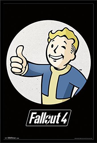 Trends International Fallout 4 Vault Boy Wall Poster 22.375' x 34'