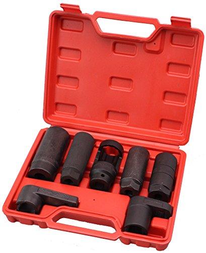 Cartman Automotive Oxygen Sensor Socket Set 7PC Socket Set