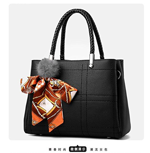 e4964dd57fea3 Taschen Damen Leder 2018 Neu Elegant Große Handtasche Europäische stil  Schultertaschen Umhängetasche Shopper Tasche Henkeltasche Beuteltasche ...