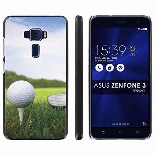 Drivers Asus Wireless - Asus Zenfone 3 ZE552KL Back Cover [Mobiflare] [Black] Slim Clip-On Case [Screen Protector] - [Golf Driver] for Asus [Zenfone 3] [ZE552KL] [5.5