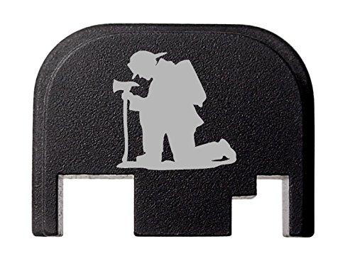 NDZ Performance for Glock 17 19 21 22 23 27 30 34 36 41 Rear Plate Blk G1-4 Fireman's Prayer