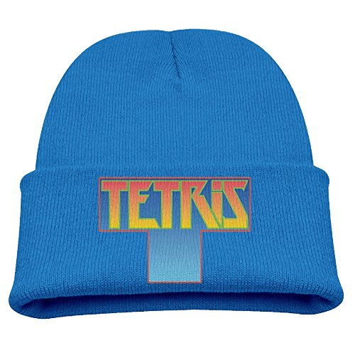 [Tetris Video Game Warm Winter Hat Knit Beanie Skull Cap Cuff Beanie Hat Winter Hats Girls] (Home Made Video Game Costumes)
