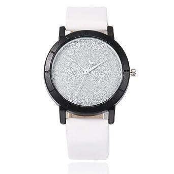 Reloj para Mujer Reloj de Pulsera Reloj con cinturón Estrellado ...