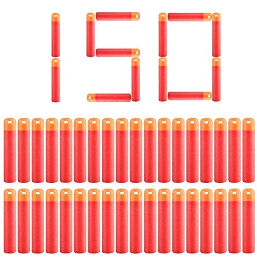 POKONBOY 150 Pack Darts Compatible with Nerf Guns - Dart Refill Pack Fit for Nerf Mega Series