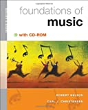 Foundations of Music (with CD-ROM) 7th Edition