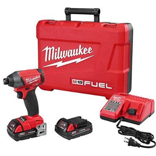 Milwaukee 2753-22CT M18 Fuel 1 4 Hex Imp Driver Kit