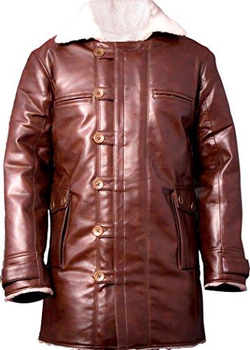 Leatherly Manteau Homme Bane Faux (synthétique) Cuir Manteau