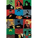 Justice League - Minimalist Poster Print, 22x34