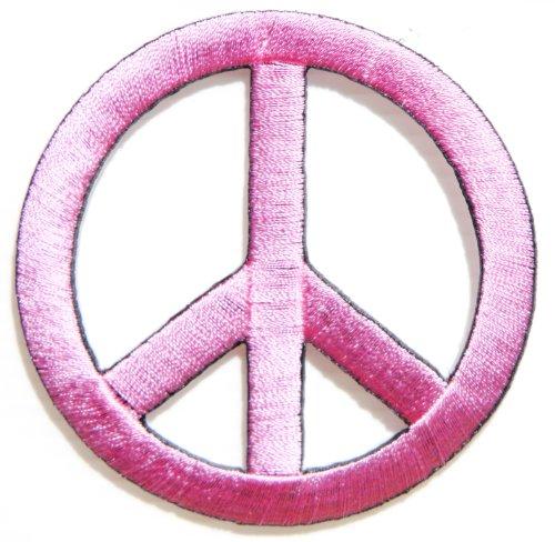 Peace Anti No War Sign Logo Hippie Retro Biker Tatoo Jacket T-shirt Vest Patch Sew Iron on Embroidered Badge Symbol Custom (Hat Shirt Pin)