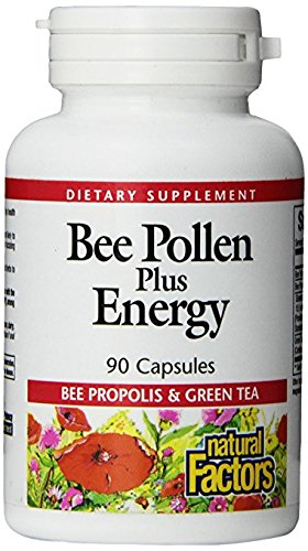 Natural-Factors-Bee-Pollen-Plus-Energy-Supports-Healthy-Energy-Endurance-90-Capsules