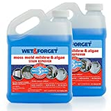 Wet & Forget Moss, Mold, Mildew & Algae Stain Remover.5 Gallon (2 pack)