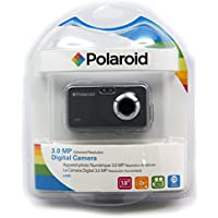 Polaroid CAA-300TC 3MP CMOS Digital Camera with 1.8-Inch LCD Display (Titanium)