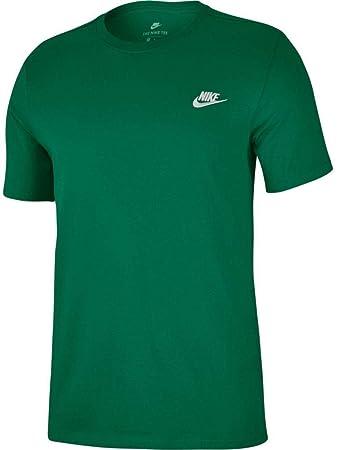 8ab6af4d2a9d Amazon.com  NIKE Sportswear Men s Club Embroidered Futura Tee  NIKE ...