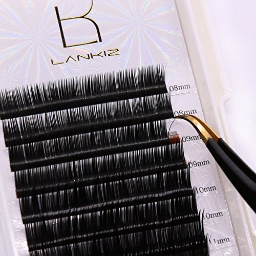 B-curl-Eyelash-Extension-015mm-Volume-Ellipse-Flat-Individual-Lashes-Extension-8-14mm-Mix-Tray-Salon-Perfect-Use-by-LANKIZ