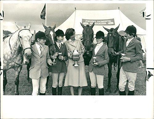 Vintage photo of Sunday Telegraph: Pony Club Championship