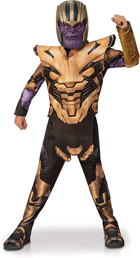 Rubies - Disfraz Infantil de Los Vengadores Endgame Thanos, Talla ...