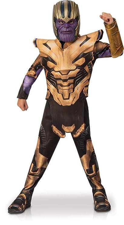 Rubies - Disfraz Infantil de Los Vengadores Endgame Thanos, Talla S, Edad 3 – 4, Altura 117 cm