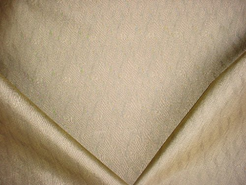 (62H14 - Shimmering Metallic Gold / Black Strand Transitional Designer Upholstery Drapery Fabric - By the Yard)
