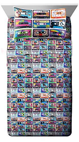Nickelodeon Nick the 90' s Mix Tape 3 Piece Twin Sheet Set -