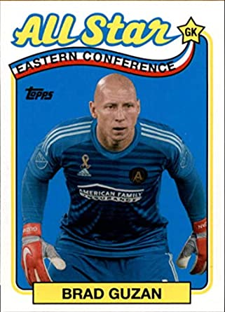 huge discount a8ced 657d8 Amazon.com: 2019 Topps MLS All-Stars #AS-BG Brad Guzan ...
