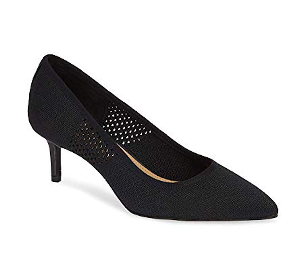 Black NIC+ZOE Womens Carmen Pointed Toe Classic Pumps