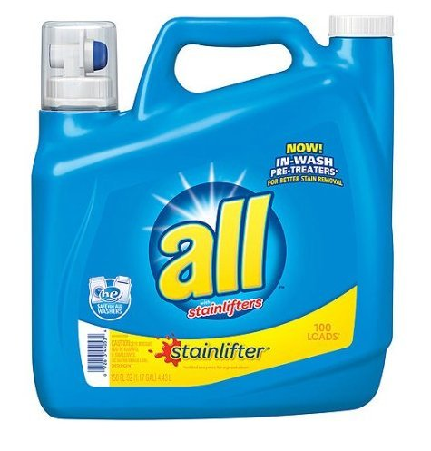 All 2x Ultra Stainlifter Liquid Laundry Detergent, 150 oz made with concentrated power and packed with All stainlifters,Safe for hand washables and for use with (2x Ultra Liquid)