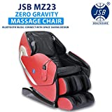 JSB MZ23 Massage Chair Zero Gravity with Bluetooth Music Connect, Touch Button Panel & Space Saving Design