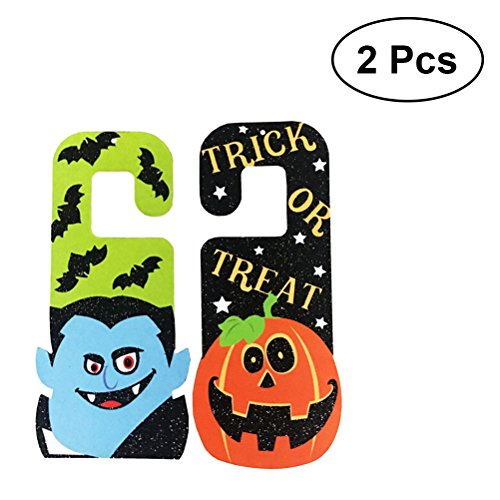 2PCS Halloween Hanging Tag Zombie Decoration for Home