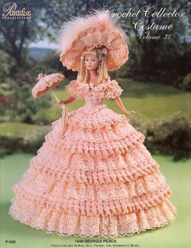 [Crochet Collector Costume Volume 37 1848 Georgia Peach] (Paradise Costumes Volume)
