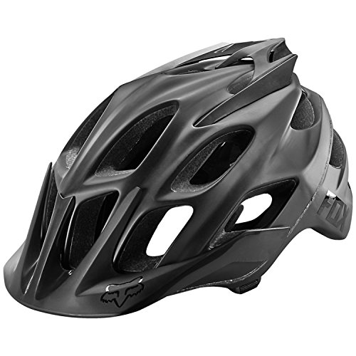 - Fox Head Adult Flux MTB Racing Bike Helmet (Matte Black, X-Small/Small)