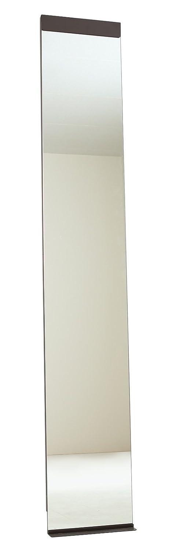 本当の自分を映し出す Accent+ スリム 姿見 鏡 リルミー 180cm 全身鏡 玄関 おしゃれ 壁掛けミラー 日本製 (ブラウン) B079N66ZJQブラウン