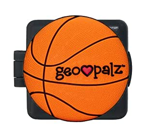 GeoPalz Kids Basketball Digital Tri-Axis Motivational Pedometer for Walking, Running and Earning Prizes